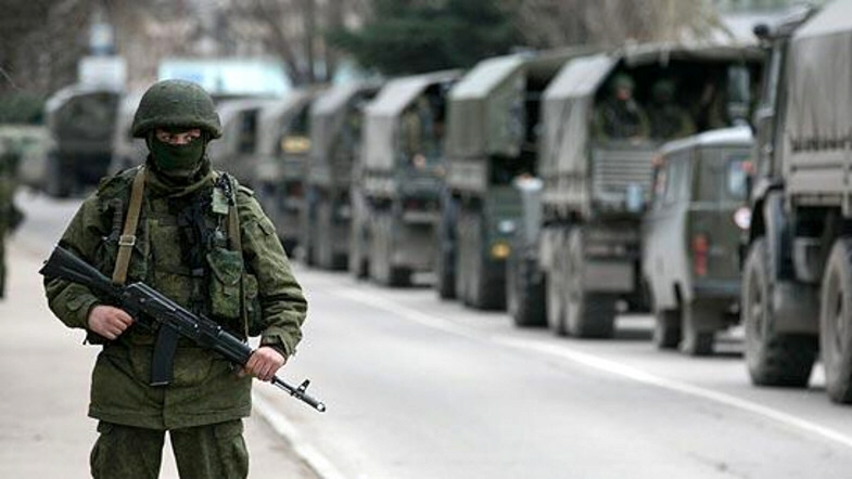 100,000 Russian troops have neared the Ukrainian border