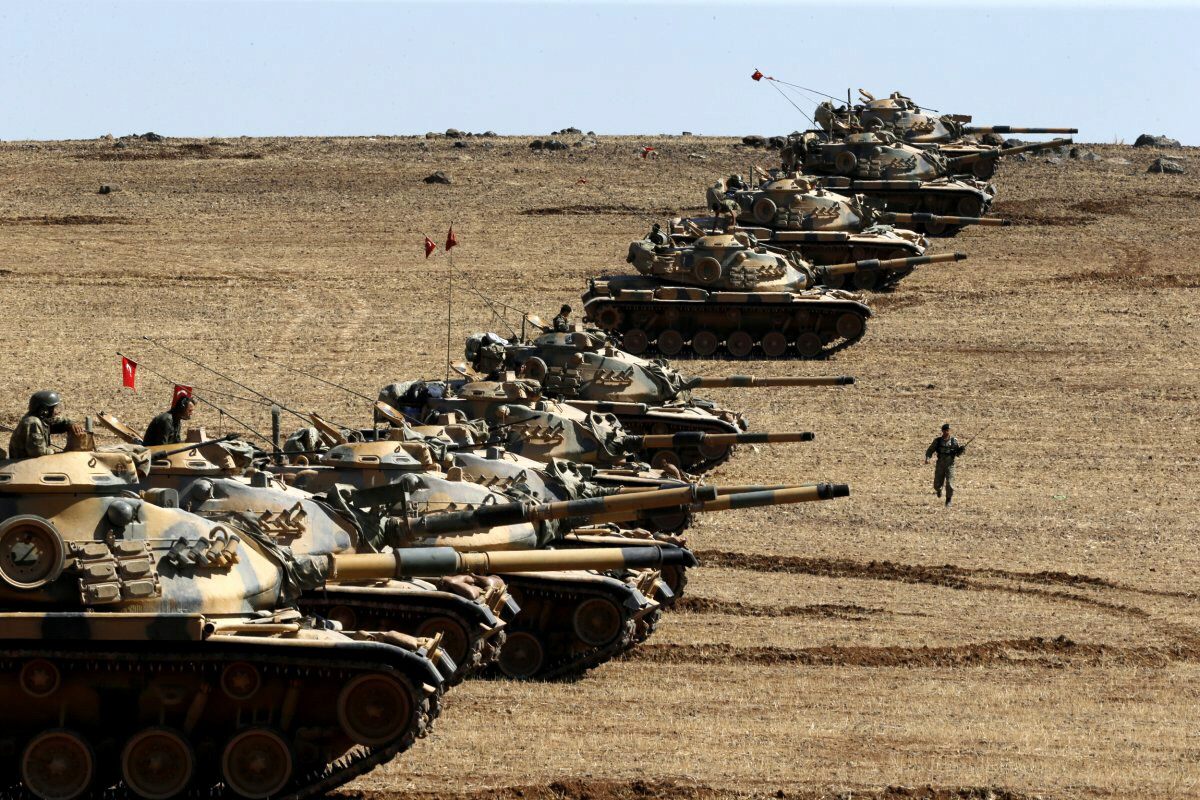 35,000 Turkish forces invade N. Iraq in war with Kurds