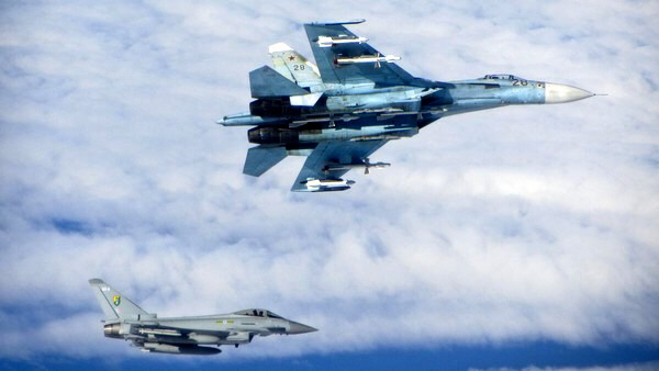 Russian warplanes violate air space of Baltic states Lithuania, Latvia, and Estonia