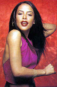 Pop music sensation and actress Aaliyah