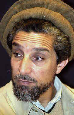 Ahmed Shah Massoud (same photo I used for the September 10, 2001 warning that mass death was coming in days or even hours)