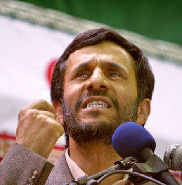 Ahmadinejad shows the West and Israel what he has planned for them