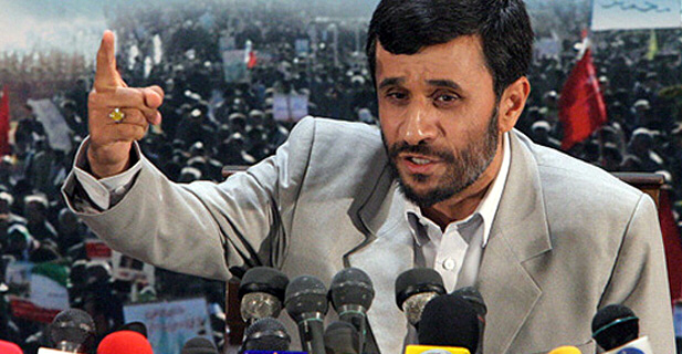 Ahmadinejad warns the Nations