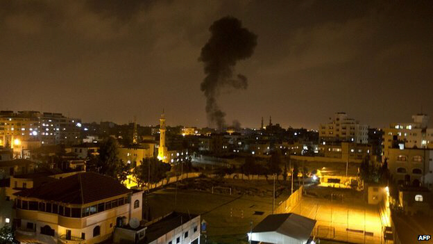 Air strikes on Gaza came after barrage of rocket and mortar attacks on July 7, 2014