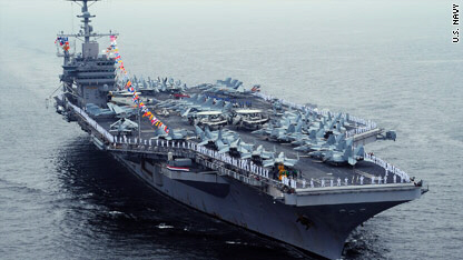 Aircraft carrier USS George Washington