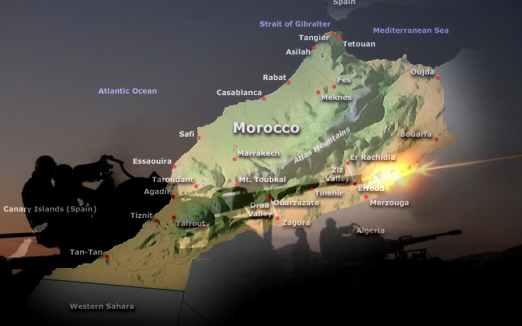 Algeria declares war on Morocco