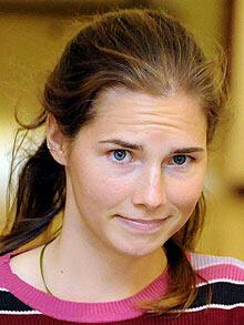 Amanda Knox has been awarded a high honour