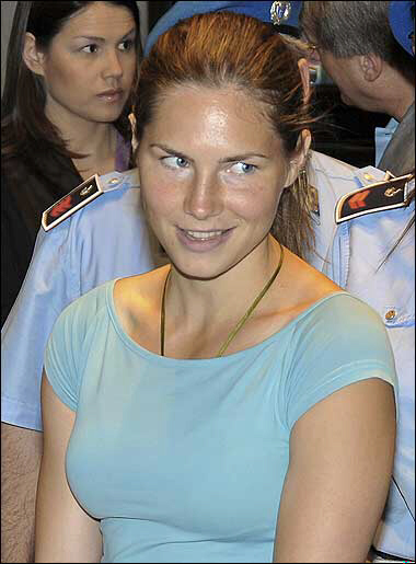 Amanda Knox drips with evil