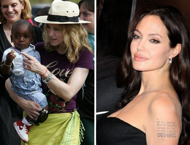 Angelina Jolie is infuriated by Madonna