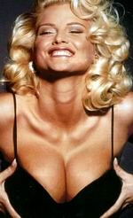 Anna Nicole Smith and her lungs