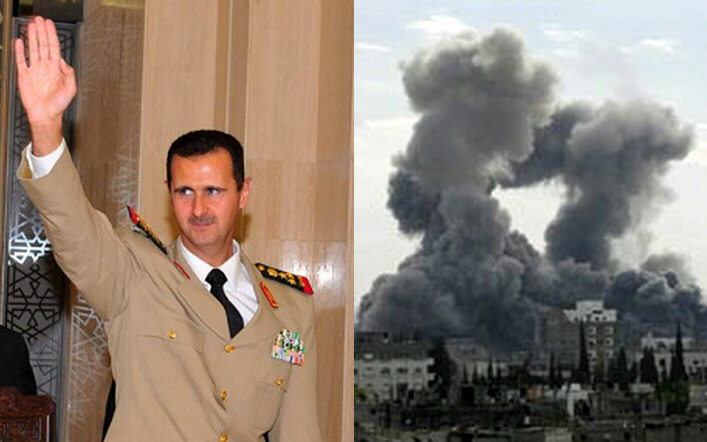 Assad warns Jordan it faces air strikes
