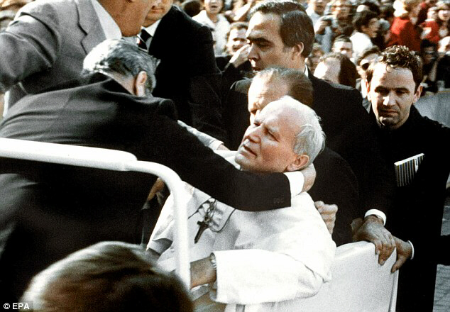 Attempted assassination of Saint Pope John Paul II in 1981