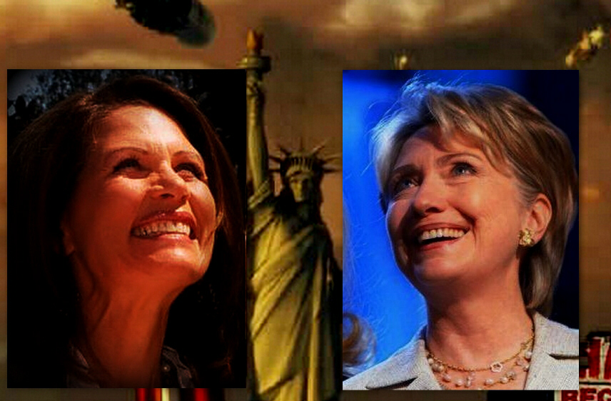 Michelle Bachmann and Hillary Clinton: only two of many female candidates