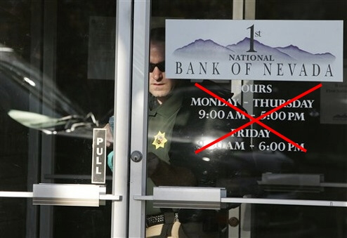 More and more banks are shutting down