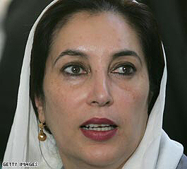 Benazir Bhutto 'dies after rally blast'