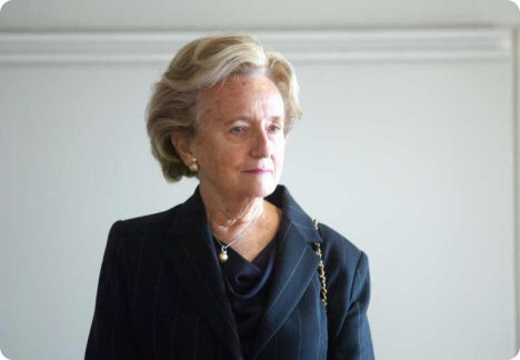Bernadette Chirac says her husband is ready for a possible third term