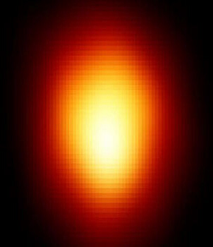 Betelgeuse as seen through Hubble