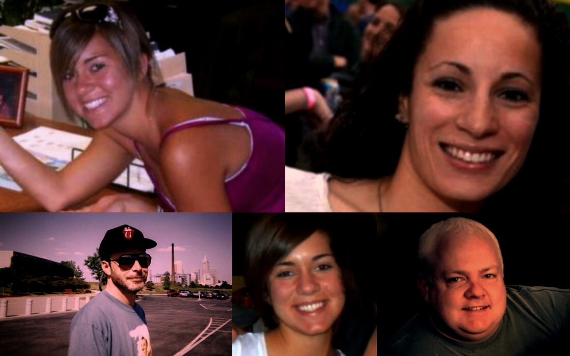 The dead (thus far): Alina BigJohnny, Christina Santiago, Nathan Byrd, Tammy Vandam, Glenn Goodrich