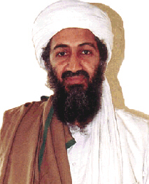 Osama bin Laden may be the white turbaned leader who will lead the future Pakistan