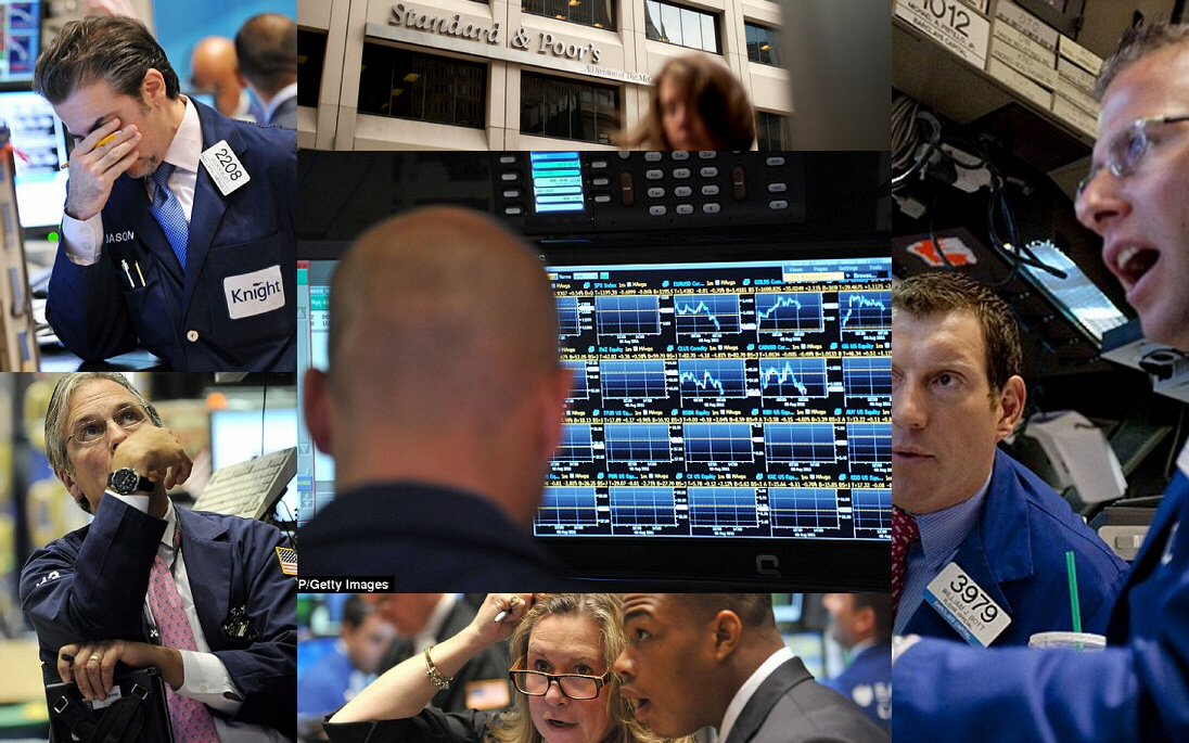 Black Monday, August 8, 2011: Stock market goes down, down, down ...