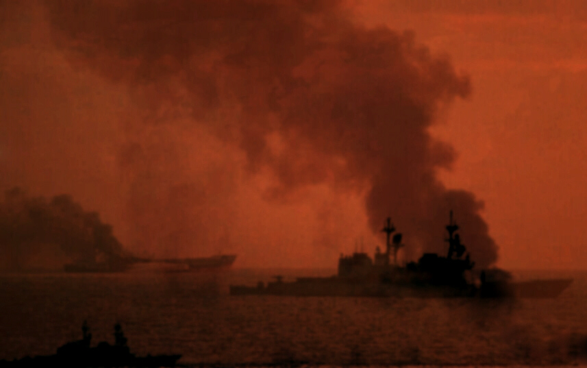 Blockade in Suez leads to naval battles