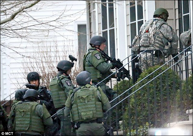 Martial law in Boston