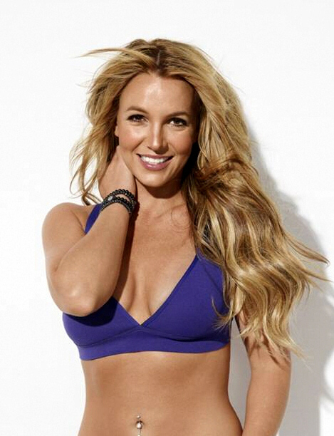 Britney Spears, Shape Magazine 2013