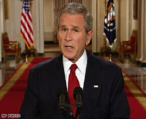 Bush warns on economy