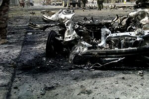 Car bombing in Afghanistan