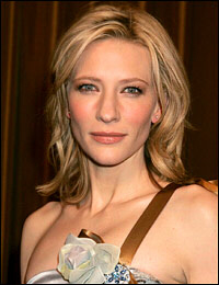Cate Blanchett in Morocco, just prior to son's accident