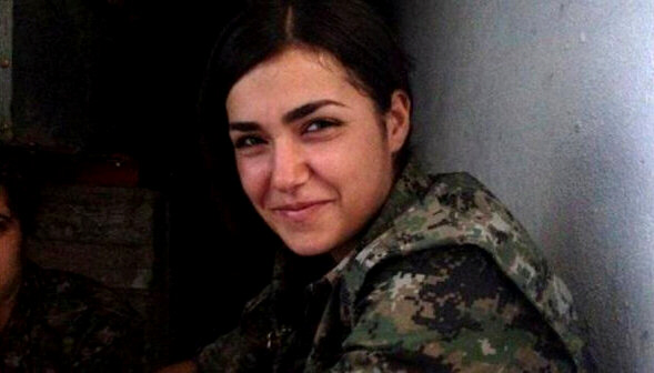 Ceylan Ozalp, 19, blew herself up with a grenade to avoid IS capture