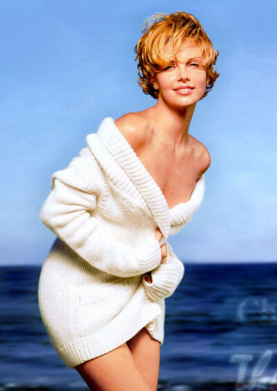 Charlize Theron as Marilyn Monroe?