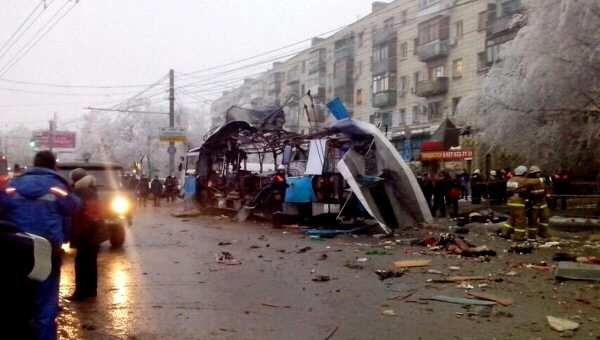 Chechen terrorist bombing in Volgograd
