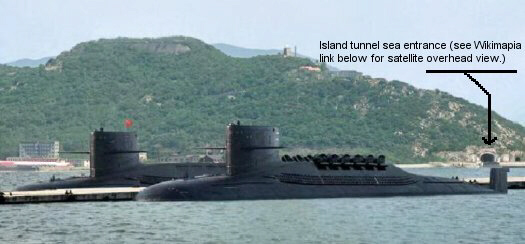 Chinese Jin Class Type 094 SSBN Submarine