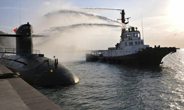 Chinese navy nuclear submarine takes part in nuclear safety drill