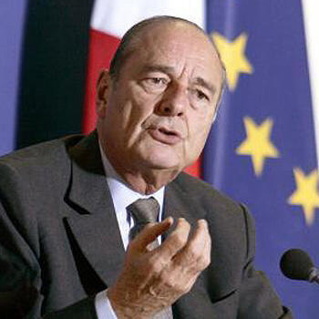 Jacques Chirac could have been Chyren had the times been a bit different