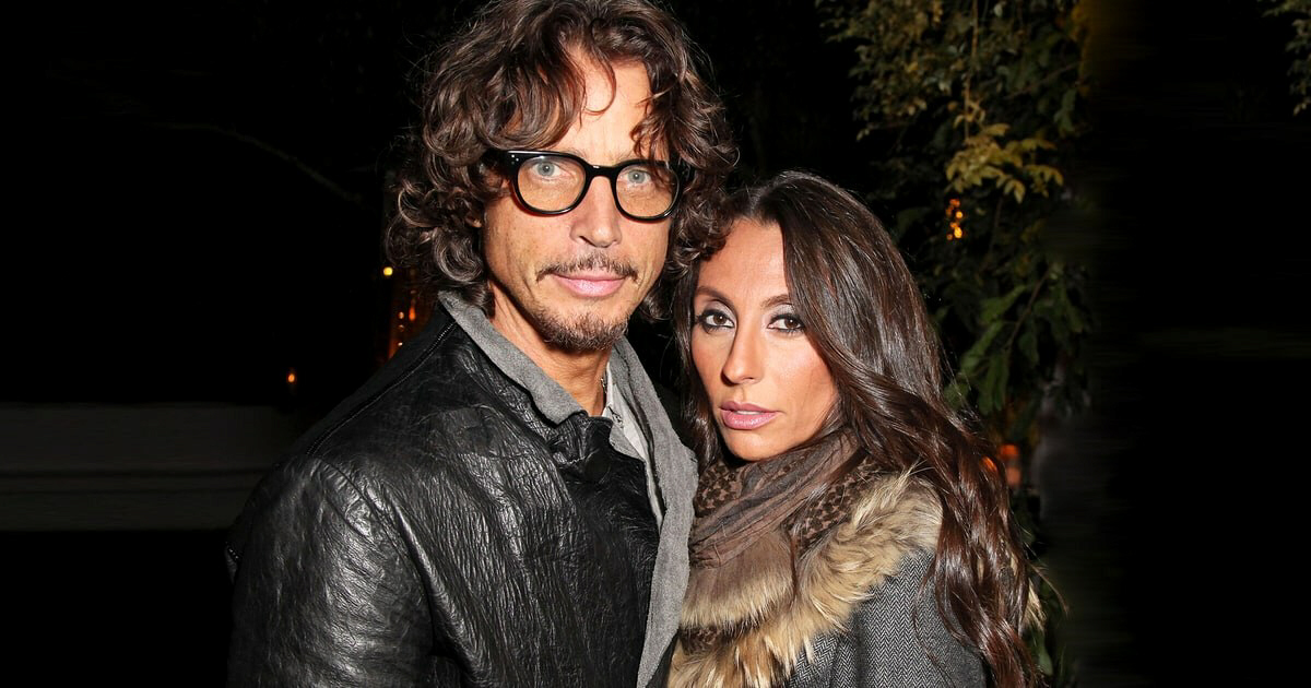 Chris Cornell with wife, Vicky Cornell