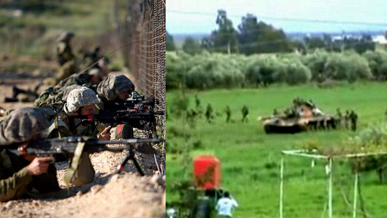 Clashes in the Golan