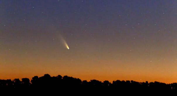 Comet PanSTARRS is now in the Northern Hemisphere