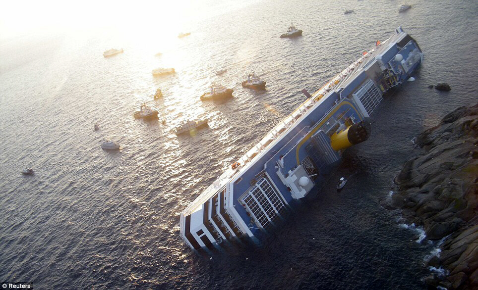 Concordia's grounding should serve as wake-up call to shipping industry