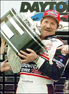 Motor racing legend Dale Earnhardt Sr.