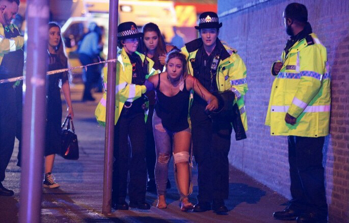 Deadly explosion at Ariana Grande concert