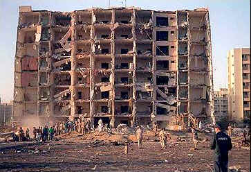 Dhahran facility bombed in 1996