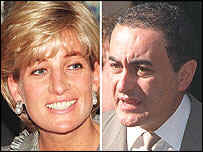 Princess Diana, boyfriend Dodi al-Fayed, and their unborn son died in a car crash in Paris on August 31, 1997
