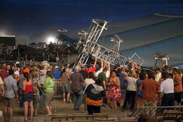 Disaster strikes at Indiana State Fair