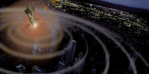 EMP explosion over major US city results in regional or nationwide blackout