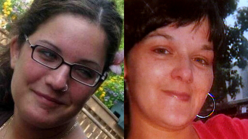 Philadelphia strangling victims Elaine Goldberg, 21 [at left] and Nicole Piacentini, 35 [at right]
