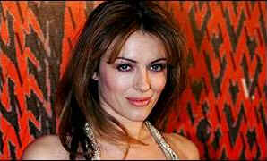 "Elizabeth Hurley: ""He'll be the death of me yet!"""