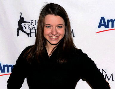 Emily Hughes attends Harlem's 2010 Skating with the Stars benefit gala