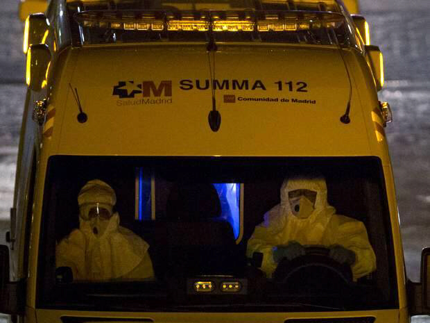 Four people in Spain are in hospital after nurse tested positive for ebola